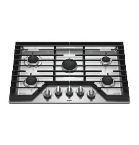 A cooktop that needs appliance repair services