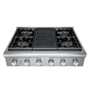 A stove that needs appliance repair services
