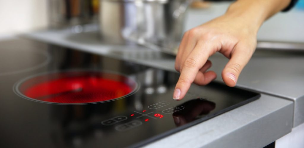 Repair a glass cooktop